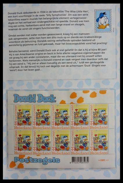 Stamp collection 13101 Netherlands Duckstad.