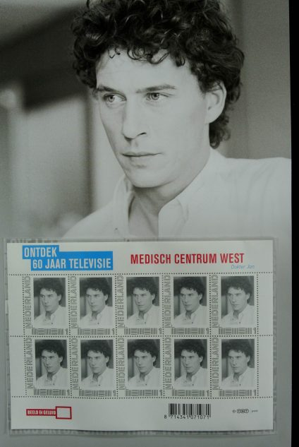 Stamp collection 13102 Netherlands 2011 60 years televison.