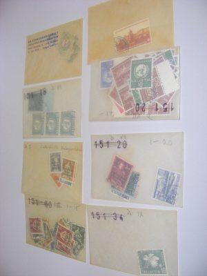 Stamp collection 18376 Switzerland.