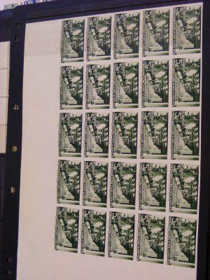 Stamp collection 19234 Spain ayuntamiento de barcelona.