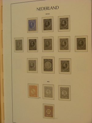 Stamp collection 19254 Netherlands 1872-2001.
