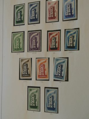 Stamp collection 20674 Europe CEPT 1956-1996.