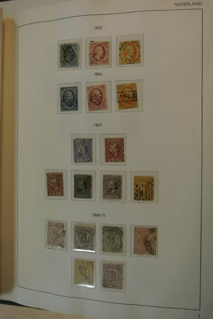 Stamp collection 20992 Netherlands 1852-1994.