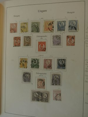 Stamp collection 21403 Hungary 1871-1975.