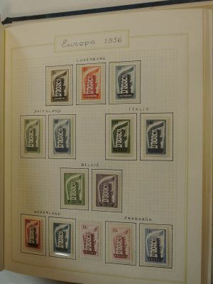 Stamp collection 21485 United Europa 1956-1972.