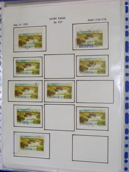 Stamp collection 22288 Canada 1899-2007.