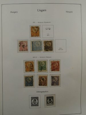 Stamp collection 22918 Hungary 1871-1983.