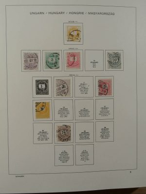 Stamp collection 22996 Hungary 1871-2000.