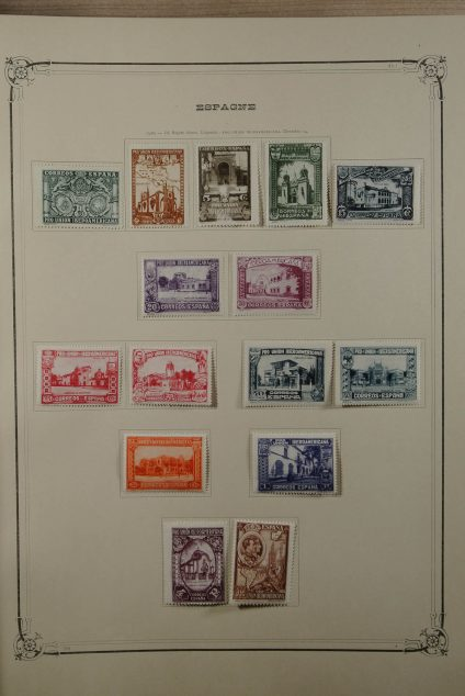 Stamp collection 23451 Western Europe ca. 1850-1935.