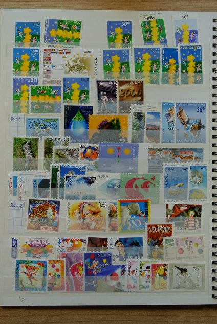 Stamp collection 23636 Europa CEPT 1958-2013!