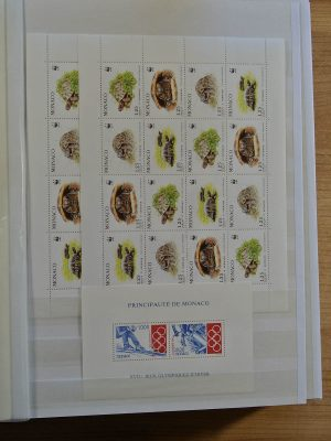 Stamp collection 23857 Western Europe souvenir sheets.