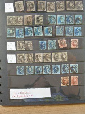 Stamp collection 24141 Belgium classic.