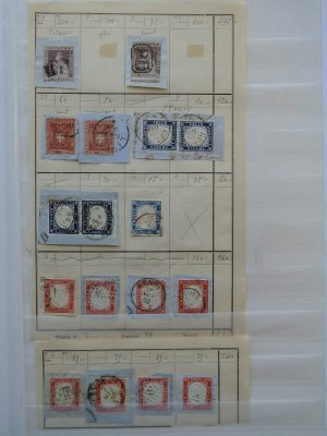 Stamp collection 24590 European countries classics.