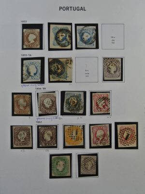 Stamp collection 24658 Portugal 1853-2010.