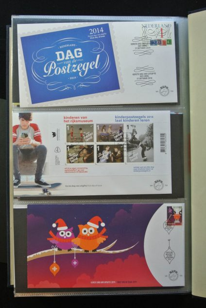 Stamp collection 13073 Netherlands first day cover collection 2002-end 2014!!