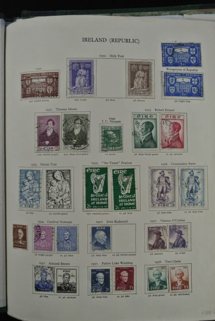 Stamp collection 24863 British colonies 1880-1965.