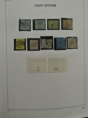 Stamp collection 24867 Vatican 1852-1999.