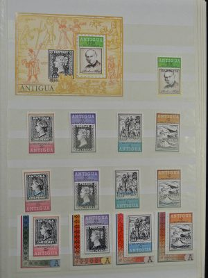 Stamp collection 24946 British Commonwealth.