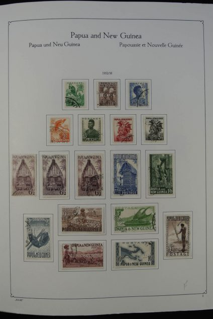 Stamp collection 24950 Papua New Guinea 1952-2003.