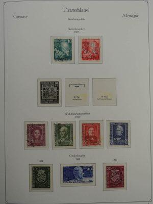 Stamp collection 25048 Bund 1949-1994.