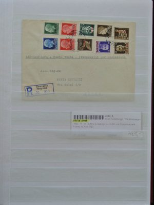 Stamp collection 25065 Italianse occupation Montenegro 1941-1943.