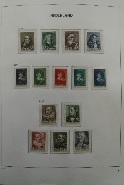 Stamp collection 25119 Netherlands 1923-1999.