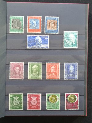 Stamp collection 25175 Bundespost.