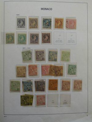 Stamp collection 25213 Monaco 1885-1987.