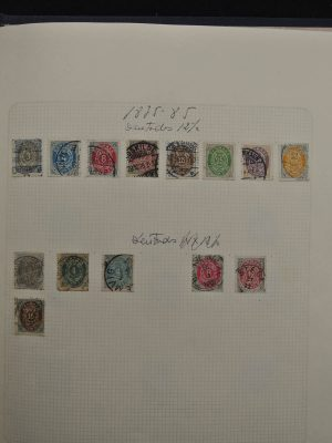 Stamp collection 25250 Denmark 1854-1991.