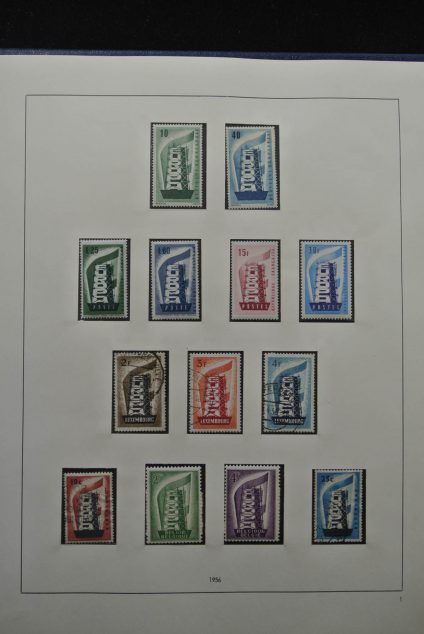 Stamp collection 25262 Europa CEPT 1956-2001.