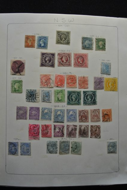 Stamp collection 25420 Australia and States 1854-2013.