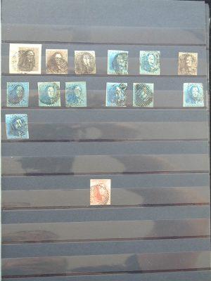 Stamp collection 25433 Belgium 1849-1940.