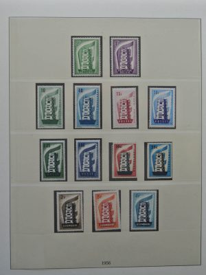 Stamp collection 25521 Europa CEPT 1956-2004.