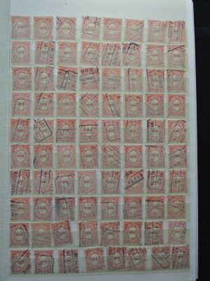 Stamp collection 25545 Cancels Netherlands.