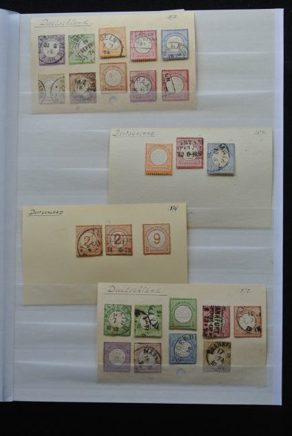 Stamp collection 25558 Germany 1872-1963.