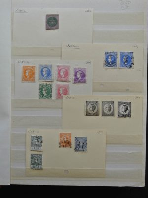 Stamp collection 25561 South East Europe.