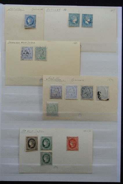 Stamp collection 25563 Spain and Portugal.