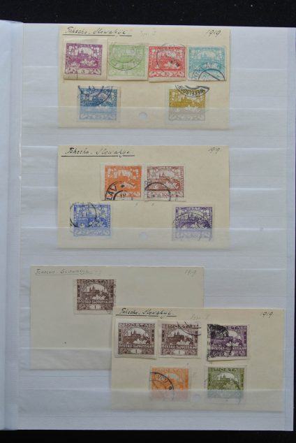 Stamp collection 25569 Eastern Europe.