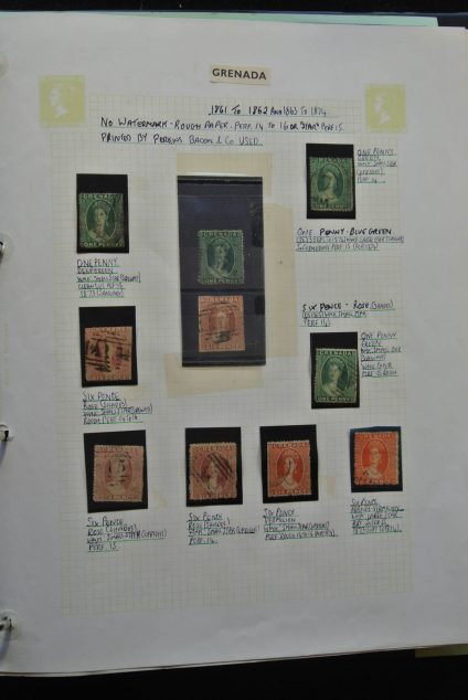 Stamp collection 25573 Grenada 1861-1986.
