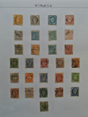 Stamp collection 25626 Scandinavia 1851-1930.