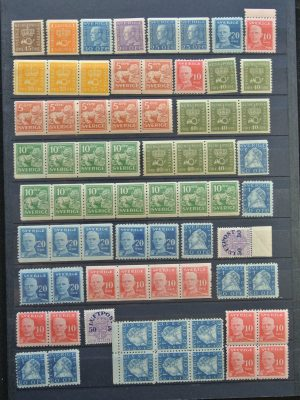 Stamp collection 25881 Sweden 1920-1940.