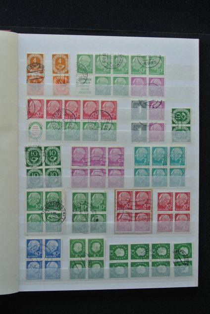 Stamp collection 25885 Bundespost and Berlin.