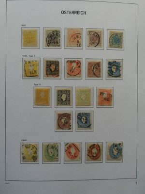 Stamp collection 25960 Austria 1850-1969.