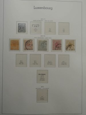 Stamp collection 25974 Luxembourg 1859-1967.