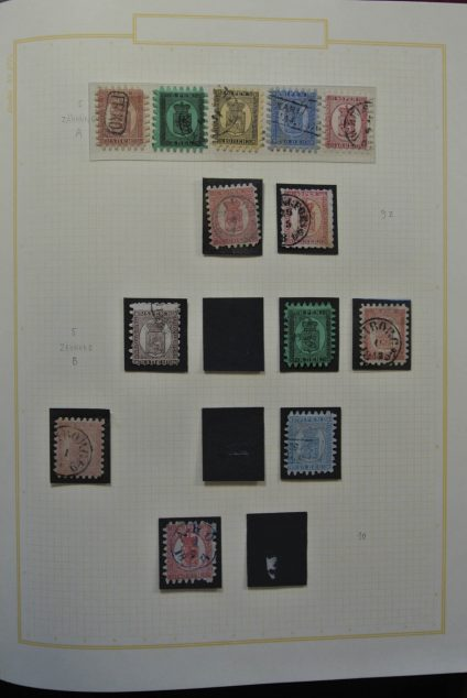 Stamp collection 25994 Finland 1856-1956.