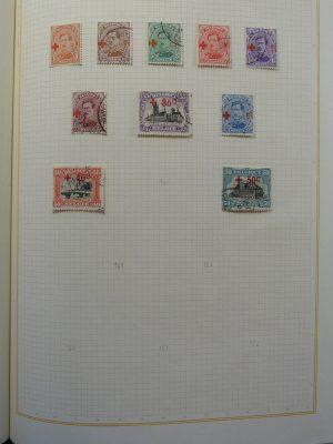 Stamp collection 25995 Belgium 1915-1930.