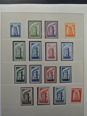 Stamp collection 26013 Europa Cept 1956-2000.