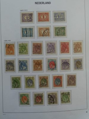 Stamp collection 26036 Netherlands 1899-1986.
