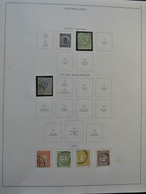 Stamp collection 26054 Netherlands 1869-1970.