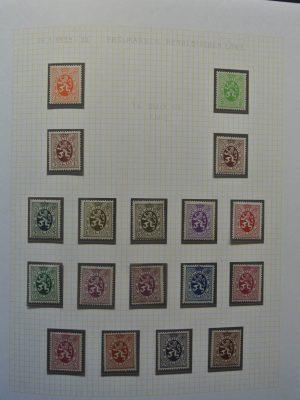 Stamp collection 26069 Belgium ca. 1929-2001.
